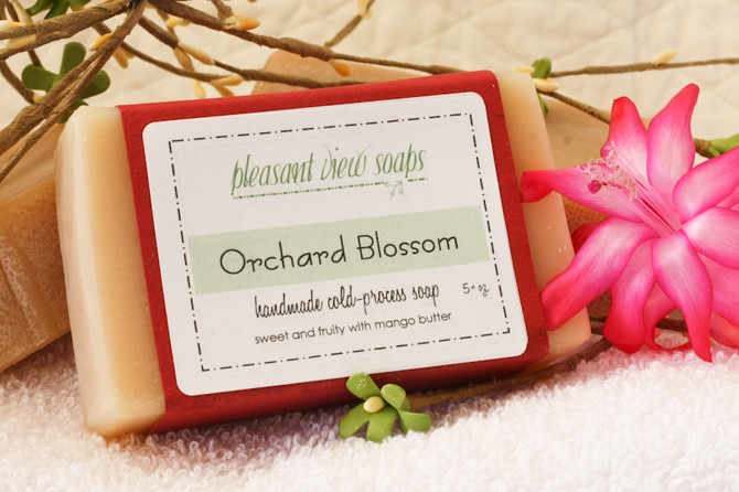 Orchard Blossom and Forest Spice soaps
