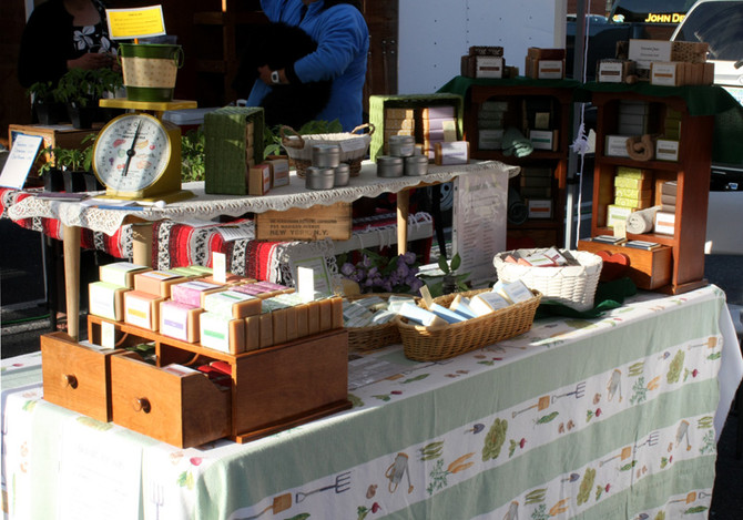 Our Market Booth