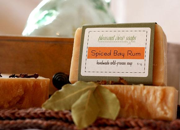[ Spiced Bay Rum Goat's Milk Soap ]