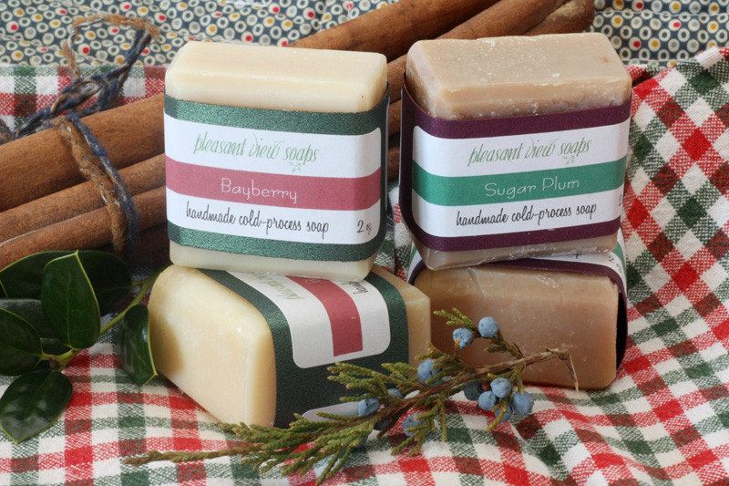 Pleasant View Soaps holiday bayberry