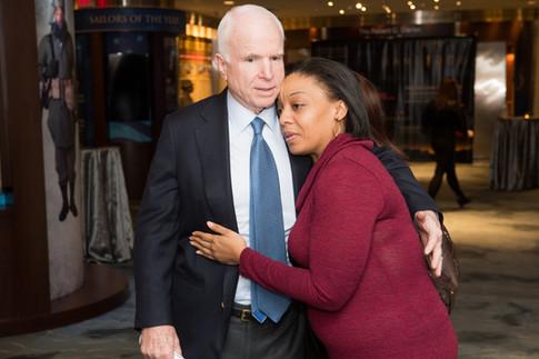 John McCain attends the I Am Jane Doe DC screening