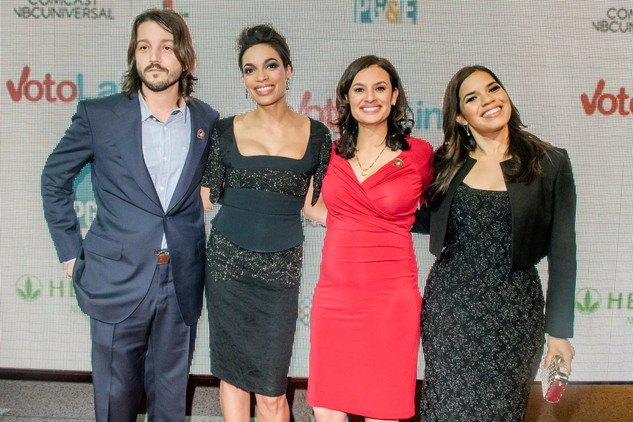 CESAR CHAVEZ Screening with Diego Luna, Rosario Dawson, America Ferrera and Maria Teresa Kumar.