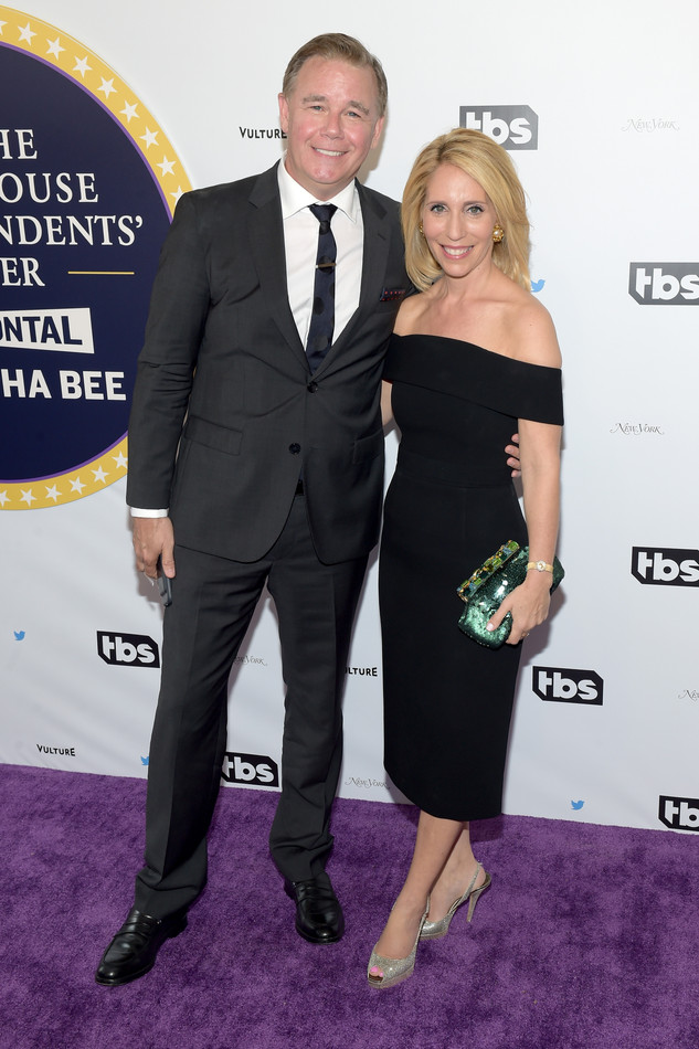 Spencer Garrett and Dana Bash at Samantha Bee's Not the White House Correspondents' Dinner
