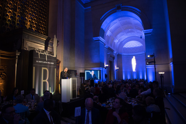 LBJ Foundation's Liberty & Justice for All Award gala at the National Archives