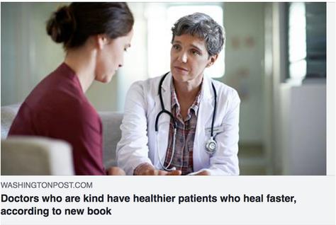 Kind doctors have healthier patients