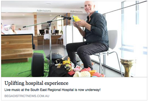Uplifting hospital experience