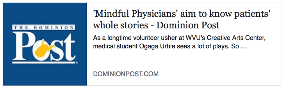 'Mindful Physicians' aim to know patients' whole stories