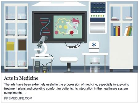 Premedly - Arts in Medicine