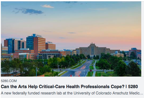 Can the Arts Help Critical-Care Health Professionals Cope?