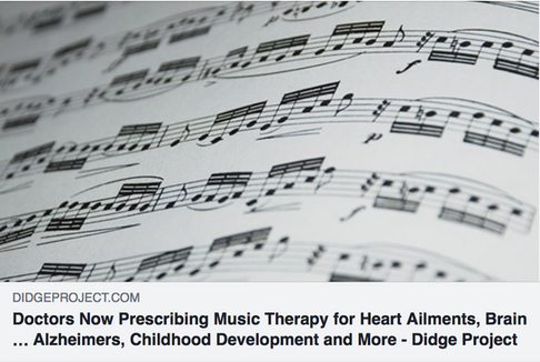 Doctors Now Prescribing Music Therapy for Heart Ailments, Brain Dysfunction, Learning Disabilities, Depression, PTSD, Alzheimers, Childhood Development and More