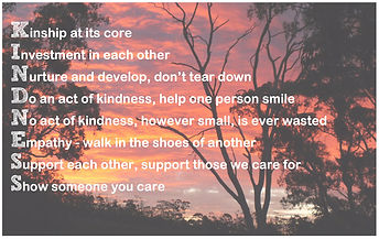 Gathering of Kindness Poster
