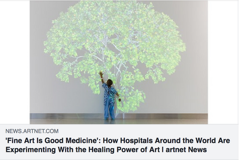 Hospitals explore the contribution of art to health and wellbeing in hospitals