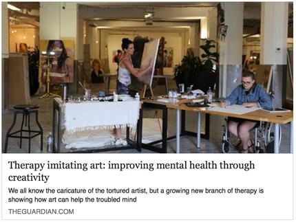 Therapy Imitating Art: improving mental health through creativity