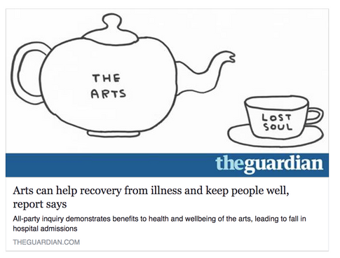 The Value of Arts in Recovery