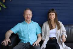 James Ledger and Olivia Davies