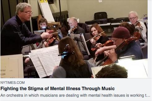Fighting the Stigma of Mental Illness Through Music