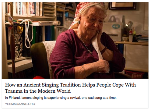 Ancient Singing Helps Trauma