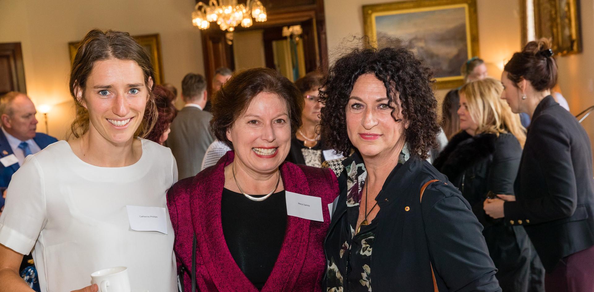 Catherine, Meryl and friend.jpg