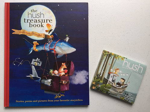 Special Pack - Hush 16: A Piece of Quiet and Hush Treasure Book