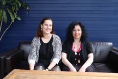 Rachel Bruerville and Elena Kats-Chernin