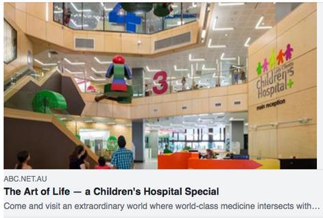 The Art of Life - ABC Radio at Brisbane Children's Hospital