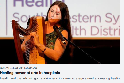 New strategy will focus on the benefits of the arts in healthcare