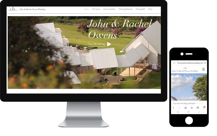 wedding website montville maleny