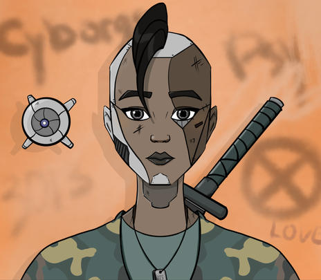 Patchwork Cyborg 2