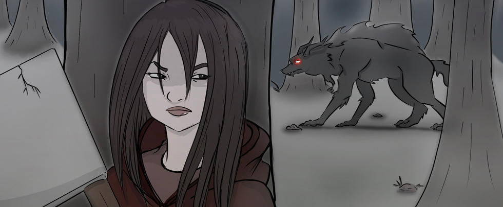 RedRidingHood Vs TheWerewolf