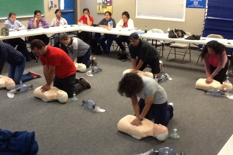 CPR/AED/FIRST AID Training/Certification