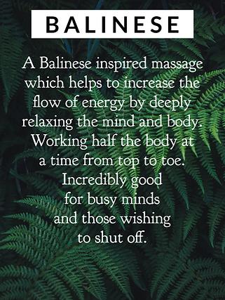 balinese massage, relaxing massage, wellbeing, boost wellbeing, spa