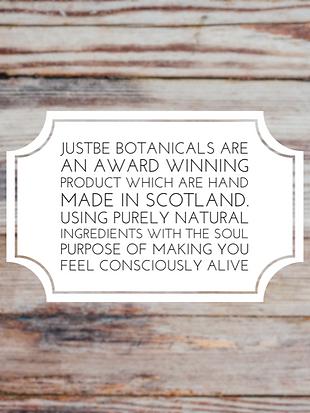 made in scotland, award winning skin care, justbe, just be botanicals, justbe skincare, justbe edinburgh