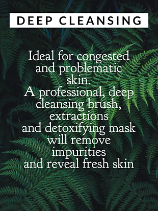 deep cleansing, spotty skin, bad skin, problem skin, fix my skin, deep cleansing, extractions