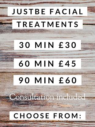 facial salon, natural skincare, cruelty free, vegan skincare