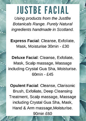 Facial treatment. Facial massage. Natural facial. facial. Made in Scotland. Facial Fife. Facial Kirkcaldy. Salon Fife