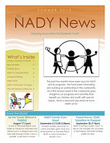 The NADY News - Summer 2012