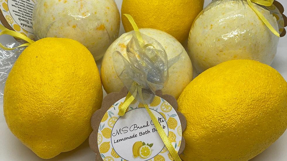 Lemonade Bath Bomb