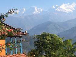 Dawn over Annapurnas