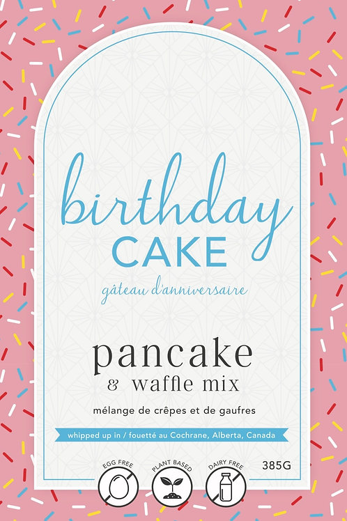Birthday Cake Pancake Mix by Lannie Rae Gourmet