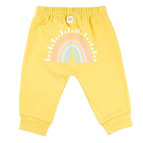 Rainbow Drawstrings Pants