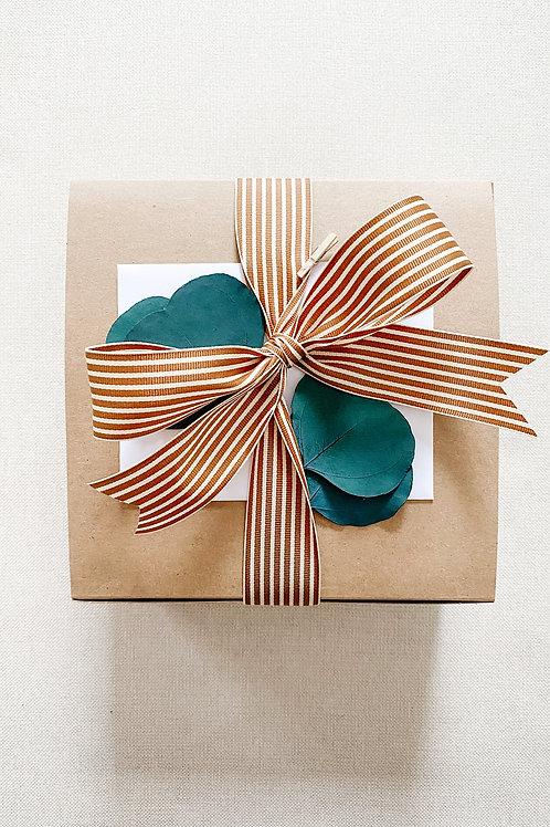Small Kraft Tuck Top Gift Box