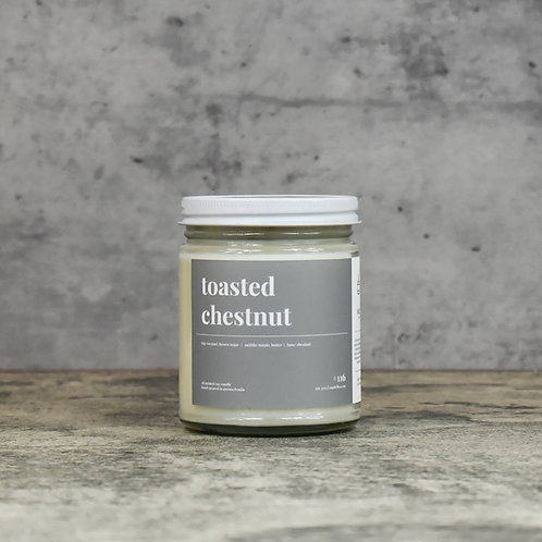 Toasted Chestnut Scented Soy Candle