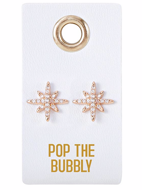 'Pop The Bubbly' Earrings