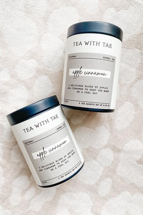 Apple Cinnamon Herbal Tea