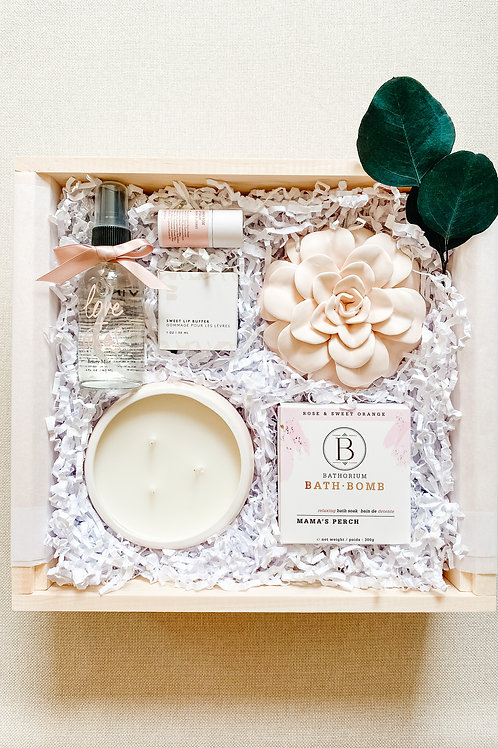 Large Love + Roses Spa