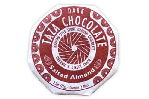 Taza Salted Almond Chocolate