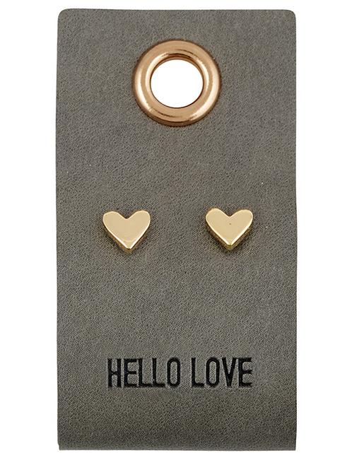 'Hello Love' Earrings