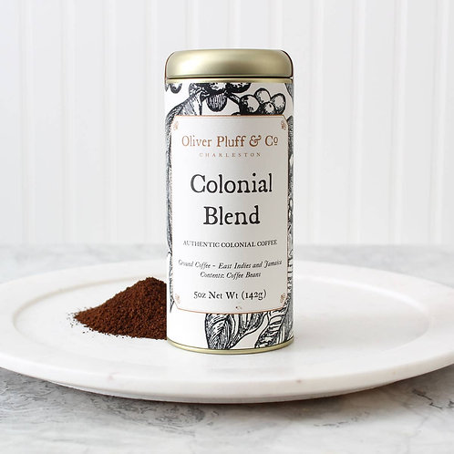 Colonial Blend Ground Coffee by Oliver Pluff & Co