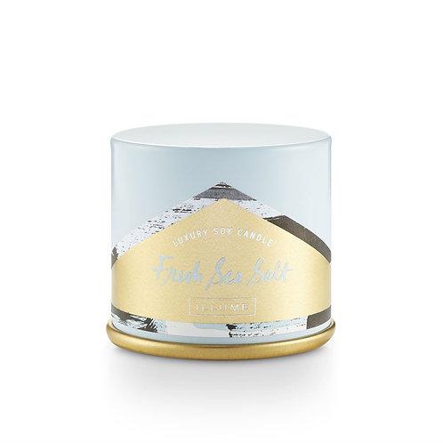 Illume Demi Vanity Tin - Fresh Sea Salt