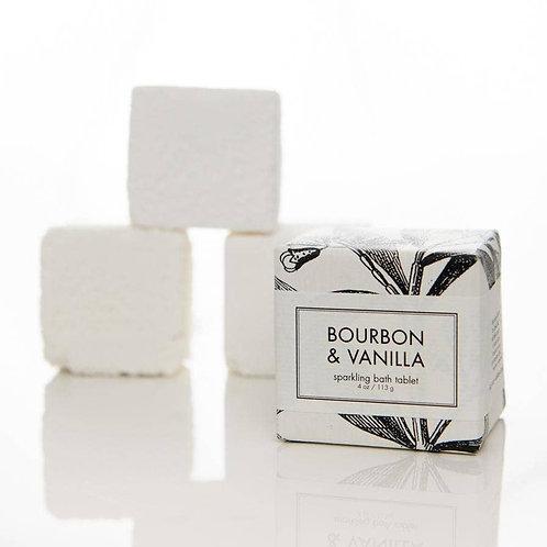 Bourbon + Vanilla Sparkling Bath Tablet